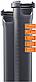Труба D.110 2000mm для внутренней канализации пластиковая HTsafeEM Ostendorf, фото 3
