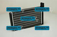 Радиатор отопителя 2108, 2109, 21099, 2113, 2114, 2115, Таврия, 1102, 1103, 1105 алюминиевый AURORA ВАЗ-2108 (2108-8101060)