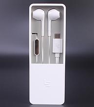 Стерео-наушники LeEco Type-C LeTV CDLA White с интерфейсом Hi-Fi / разъем Type-C /