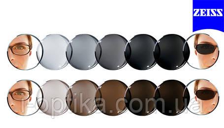 Фотохромні лінзи для окулярів ZEISS PhotoFusion, фото 2