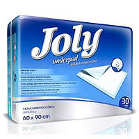 Пеленки одноразовые Joly 60х90 30 шт (8690536804115)