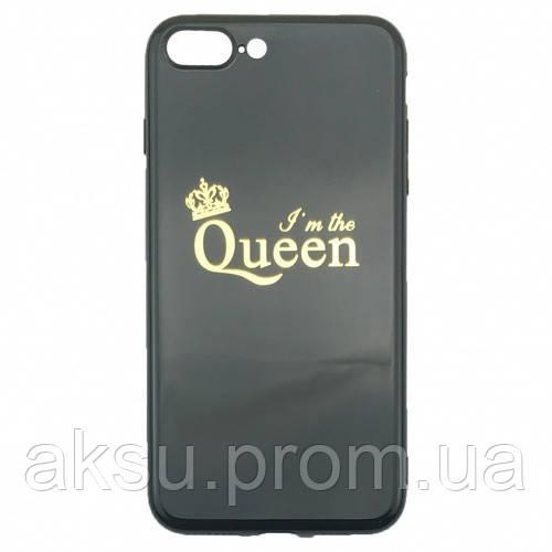 Чехол накладка xCase для iPhone 7/8 Glossy Queen