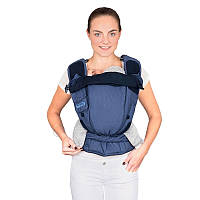 Май-рюкзак HOPPEDIZ BONDOLINO Plus Regular Blue-Melange