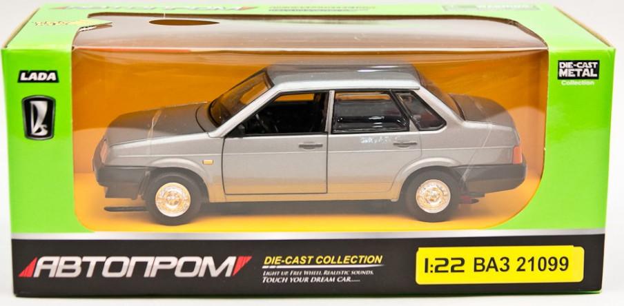 Іграшка машина метал Ваз 21099