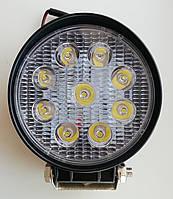 Дополнительная светодиодная (LED) фара, дальний свет, 27 Вт, светодиоды Epistar.