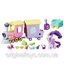 Игровой набор My Little Pony Explore Equestria Поезд дружбы Твайлайт Спаркл В5363