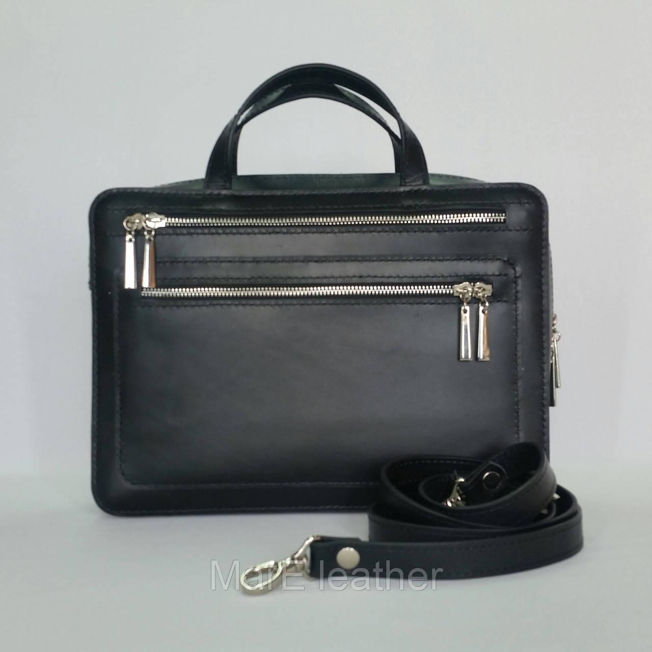 9e47bfa76a52 Мужская кожаная сумка ( А- 4) Из натуральной кожи итальянского производства