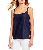 Женский стильный джинсовый топ популярного бренда Calvin Klein, фото 1