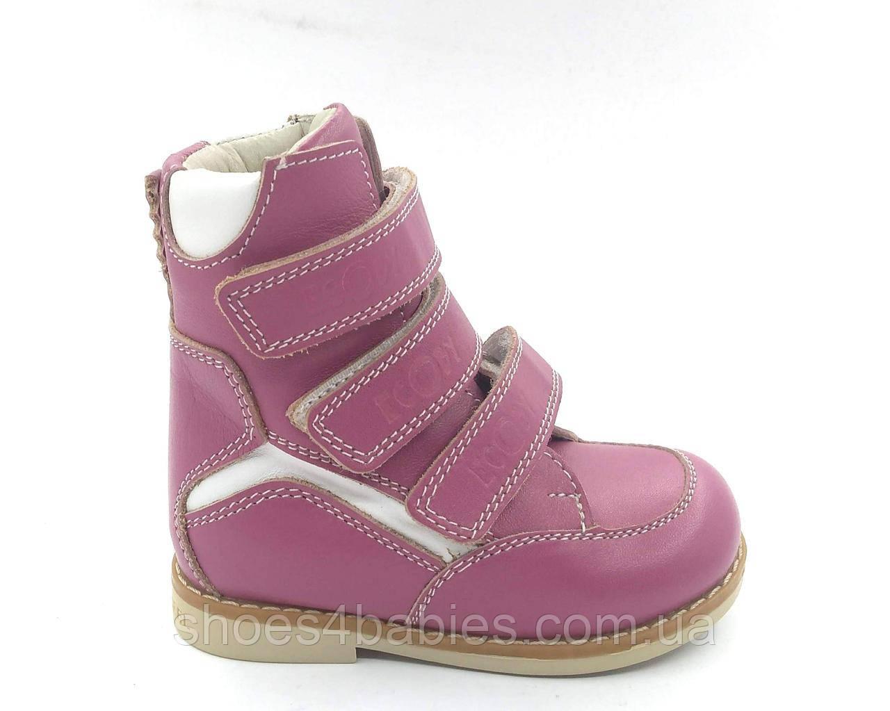 ffeeaa428 Ботинки детские зимние (сапожки) ортопедические Ecoby (Экоби) для девочки  р. 21
