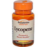 Ликопин (Lycopene), Rexall Sundown Naturals, 10 мг, 60 гелевых капсул