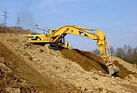 Выполнение земельных работ, рытье котлованов, разработка котлована