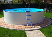 Сборный бассейн Hobby Pool Milano 8 x 1.2 м (пленка 0.6 мм), фото 1