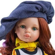 Кукла Кристи художница32 см Paola Reina04652