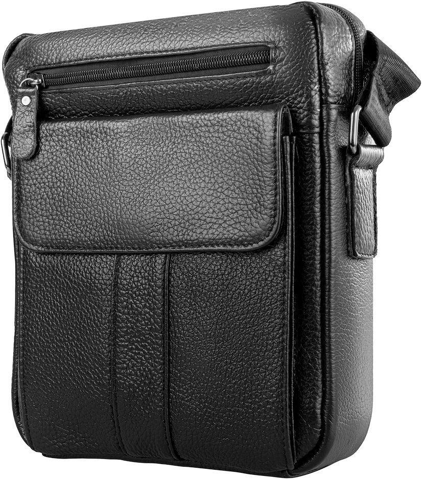 f503cbd2a05c Мужская сумка ETERNO RB-M38-8154A, на плечо, кожаная, черная, цена 1 ...