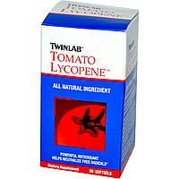 Ликопин (Lycopene), Twinlab, 10 мг, 60 гелевых капсул