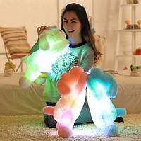 Мягкая игрушка Собака с LED подсветкой