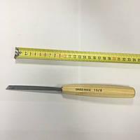 Стамеска полноразмерная, плоская, скошенная Pfeil SWISS MADE No 1S/8 (с двухсторонней заточкой)