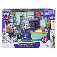 Набор My Little Pony кукла директриса Селестия Эквестрия Equestria Girls Minis Hasbro B9494