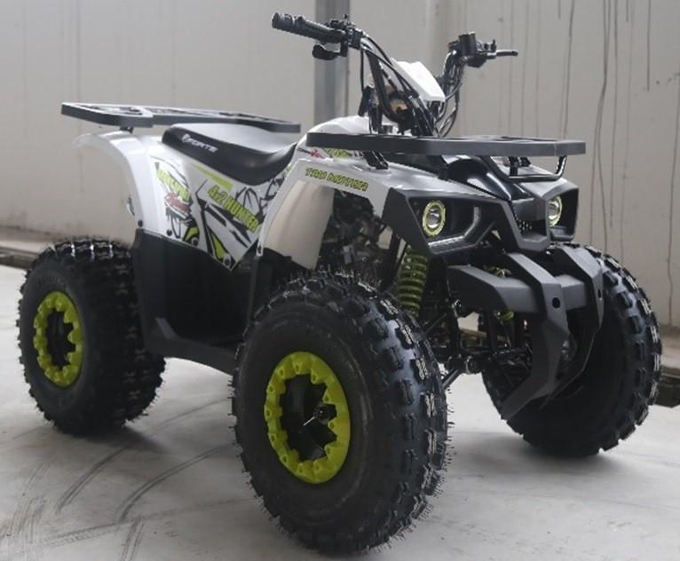 Квадроцикл FORTE HUNTER 125 біло-зелений