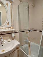 Шторка для ванной из закаленного стекла 8мм