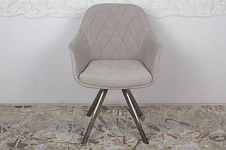 Кресло Almeria текстиль Бежевый ТМ Nicolas, фото 2