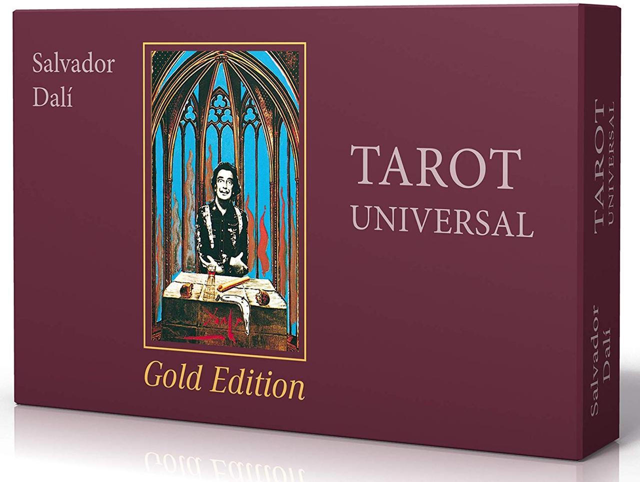 Salvador Dali Tarot Universal - Gold Edition / Таро Сальвадора Дали - Золотая Версия