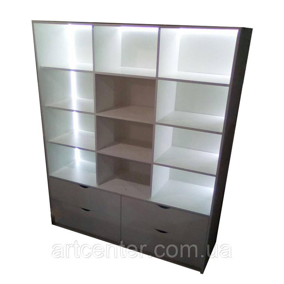 Шкаф витринный с подсветкой