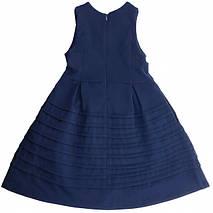 Школьный сарафан Jennifer TM Newpoint синий с карманами размеры 128, фото 2