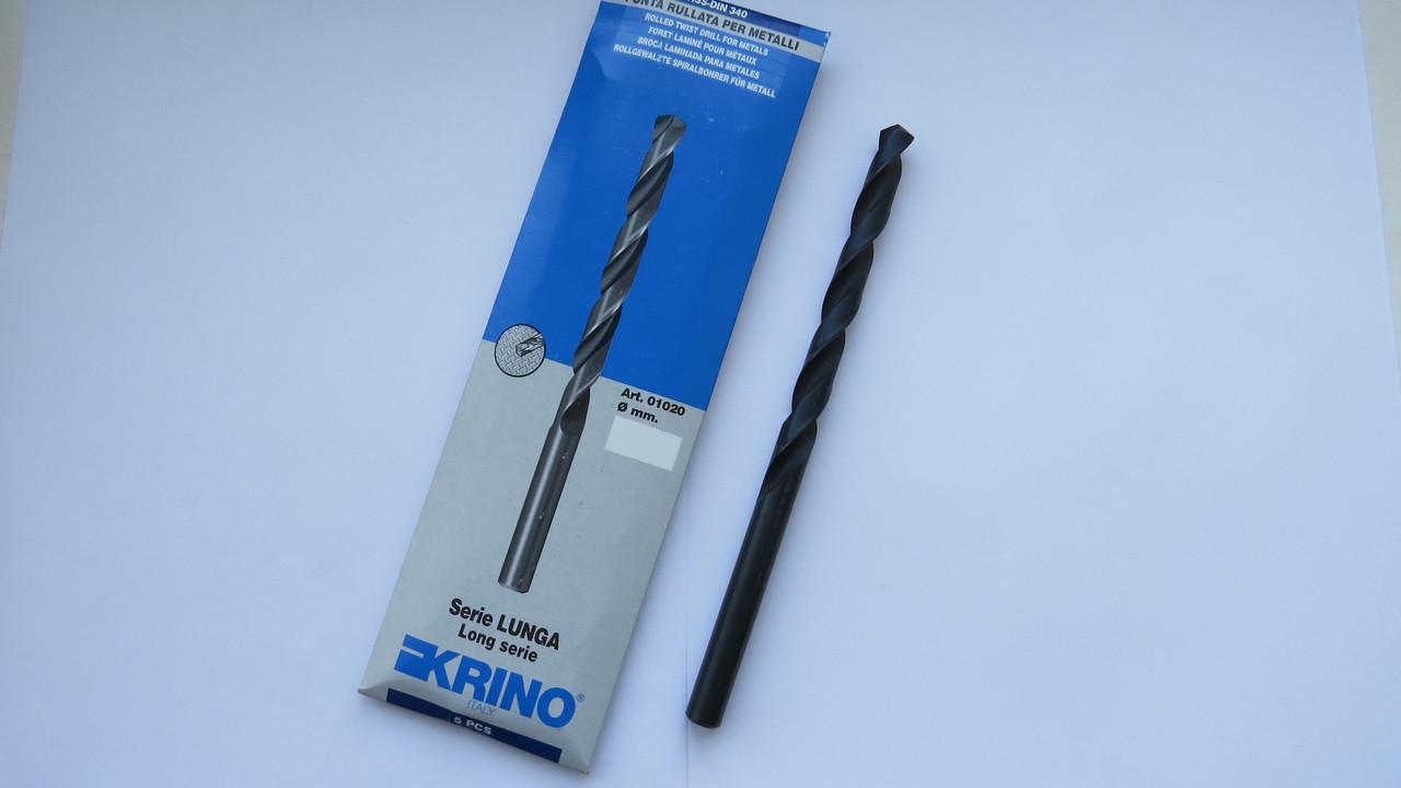 Сверло по металлу Ø9 ц\х длинная серия HSS ГОСТ 886-77 DIN340 KRINO-01020 Италия