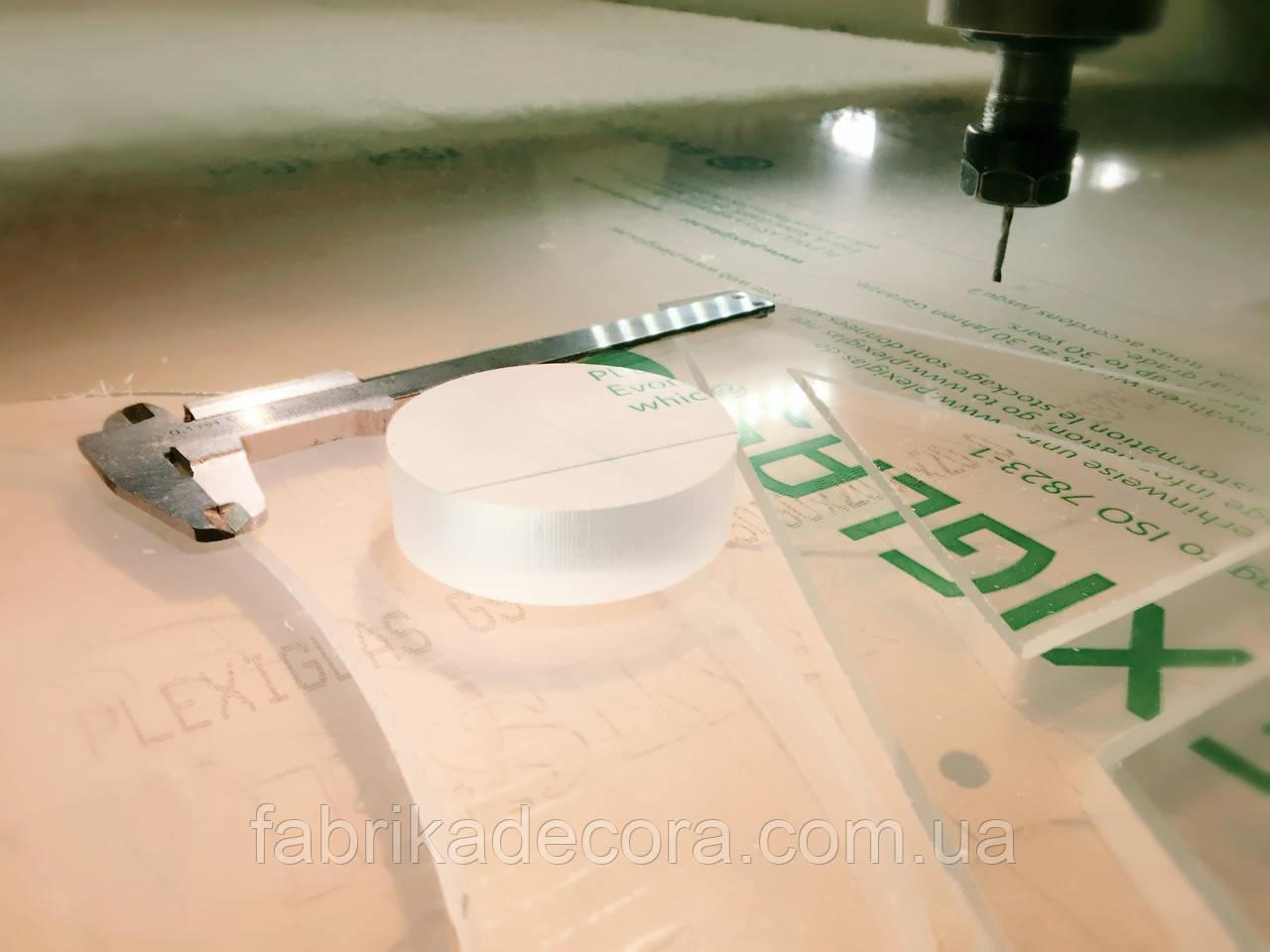 Фрезерування акрилу 3 мм.