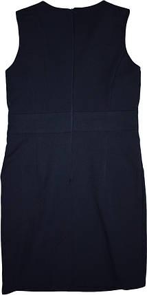 Школьный сарафан Mila TM Newpoint синий с карманами размеры  158, фото 2