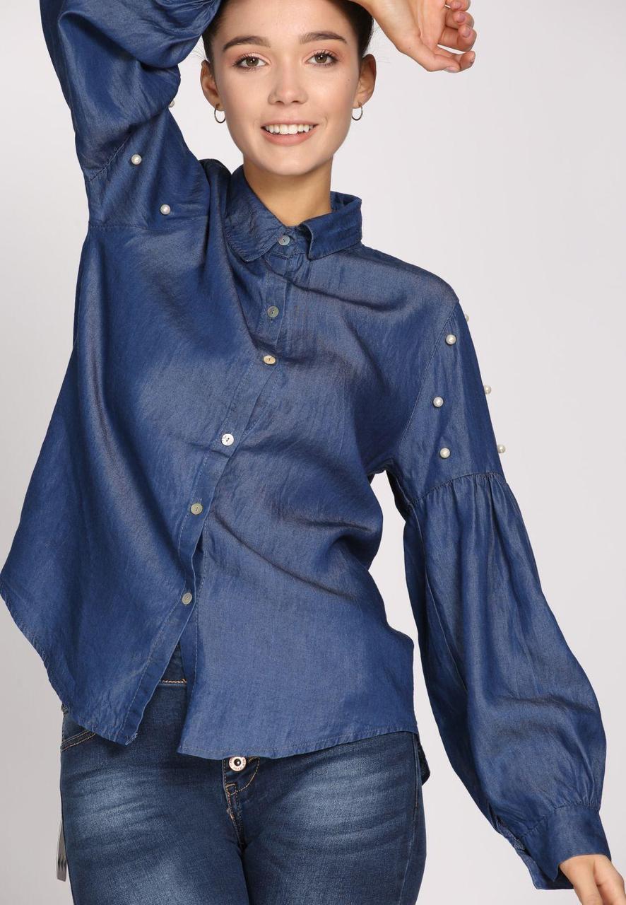 c1c7e8912ba Женская Одежда Темно-Синяя Рубашка M — в Категории