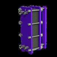 Разборный теплообменник на ГВС 200 кВт