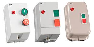 Контакторы КМИ с электротепловым реле в защитной оболочке