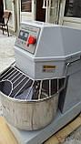 Тестомес спиральный двускоросростной Vektor HS 30 (30литров) 380V, фото 6