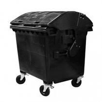 Контейнер для мусора 1100л с круглой крышкой