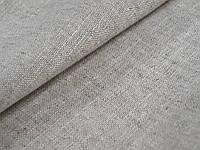 Льняная ткань для постельного белья натурального цвета (шир. 195 см), фото 1