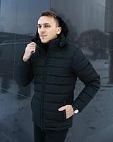 Куртка мужская зимняя черная. Куртка чоловіча зимова.ТОП КАЧЕСТВО!!!, фото 1