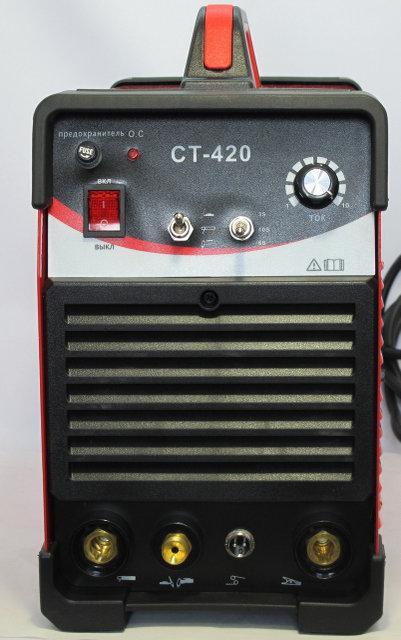 Многофункциональный сварочный аппарат CUT/TIG/MMA Edon CT-420