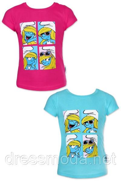 Футболка для девочек Smurfs 2-6 лет
