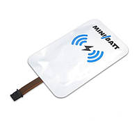 Зарядное устройство MiniBatt Qi Flexible Card Micro USB A -портовое, фото 1