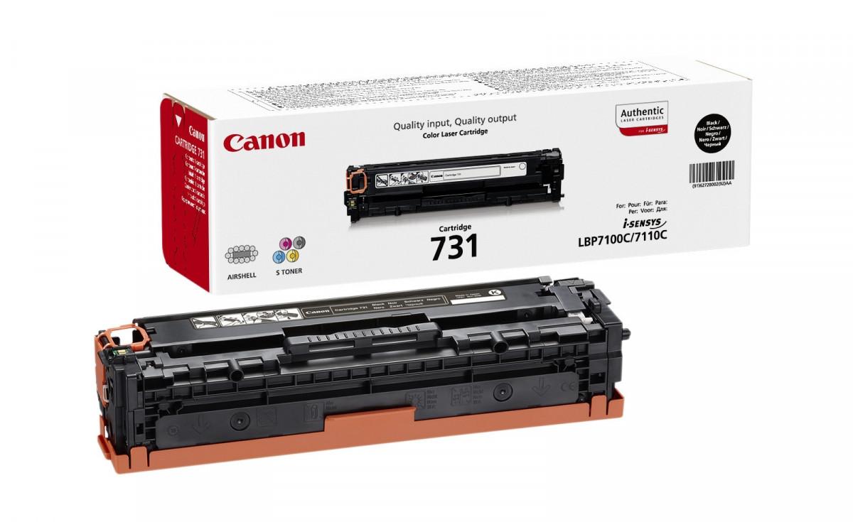 Картридж Canon 731 LBP7100/7110/8230/8280 Black (1400 стр)