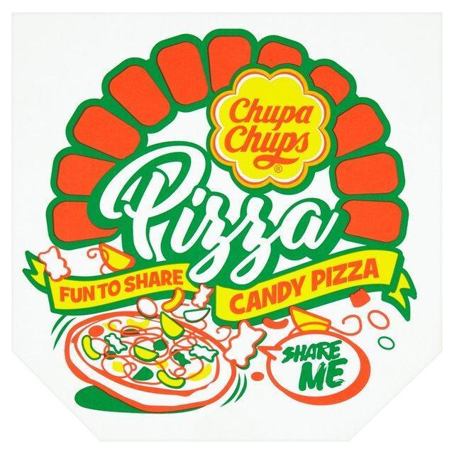 Chupa Chups candy pizza