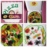"Look-O-Look Candy-Pizza ""Spooky"""