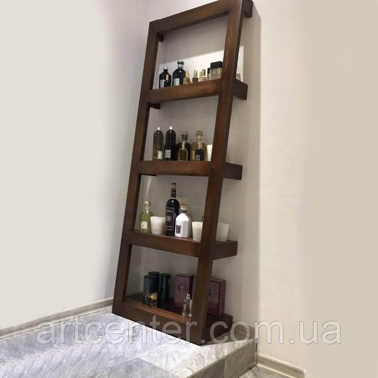 Этажерка деревянная «Perfect», стеллаж деревянный