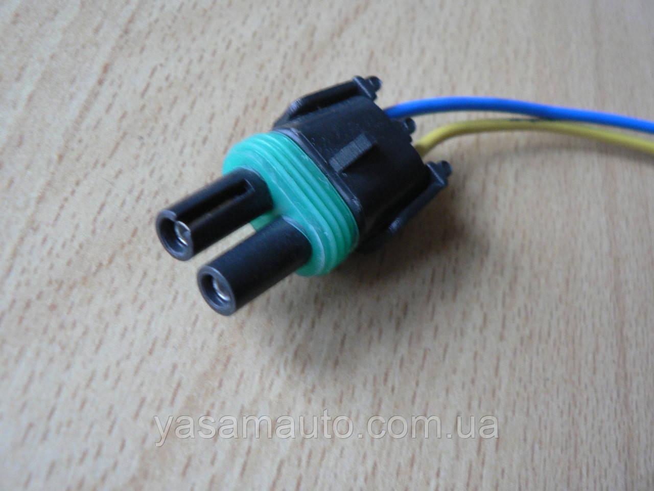 Колодка Lanos роз'єм проводки Ланос №8а лямбда-зонд на 2 контакту з проводами