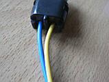 Колодка Lanos роз'єм проводки Ланос №8а лямбда-зонд на 2 контакту з проводами, фото 4