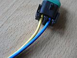 Колодка Lanos роз'єм проводки Ланос №8а лямбда-зонд на 2 контакту з проводами, фото 2