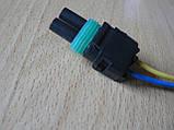 Колодка Lanos роз'єм проводки Ланос №8а лямбда-зонд на 2 контакту з проводами, фото 7