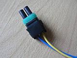 Колодка Lanos роз'єм проводки Ланос №8а лямбда-зонд на 2 контакту з проводами, фото 3